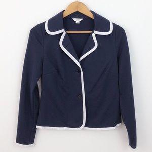 Crown & Ivy Navy Blazer